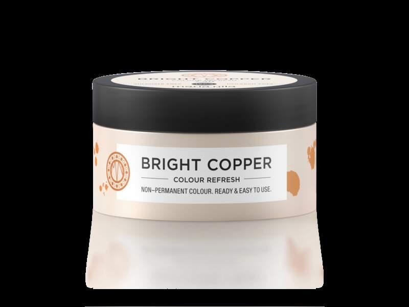 Masque colorant non permanent Bright Copper, Maria Nila, 14,95 €