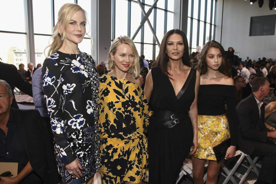 Nicole Kidman, Naomi Watts, Catherine Zeta-Jones et sa fille Carys Zeta Douglas