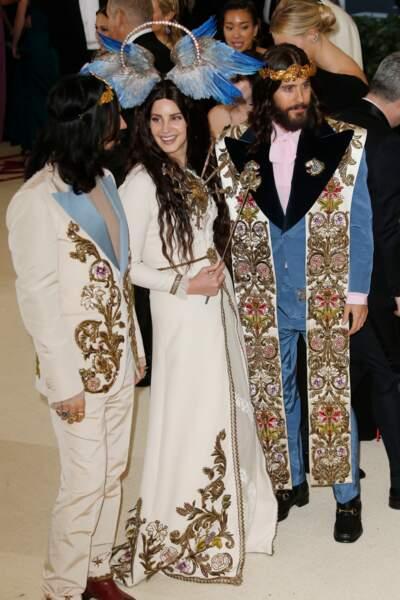 Lana Del Rey et Jared Leto en Gucci ont gagné la palme des plus belles couronnes