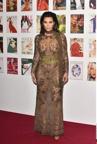 Pour Kim Kardashian, la culotte est couleur chair, forcément.