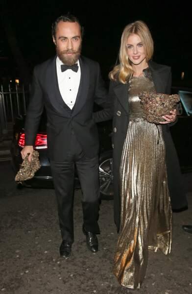 James Middleton et Donna Air invités de luxe