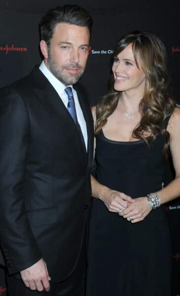 Ben Affleck et Jennifer Garner lors d'un gala à New York en 2014