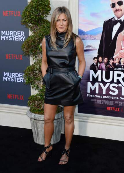 Jennifer Aniston à la soirée Murder Mystery au Linwood Dunn Theater à Hollywood, Los Angeles, le 10 juin 2019