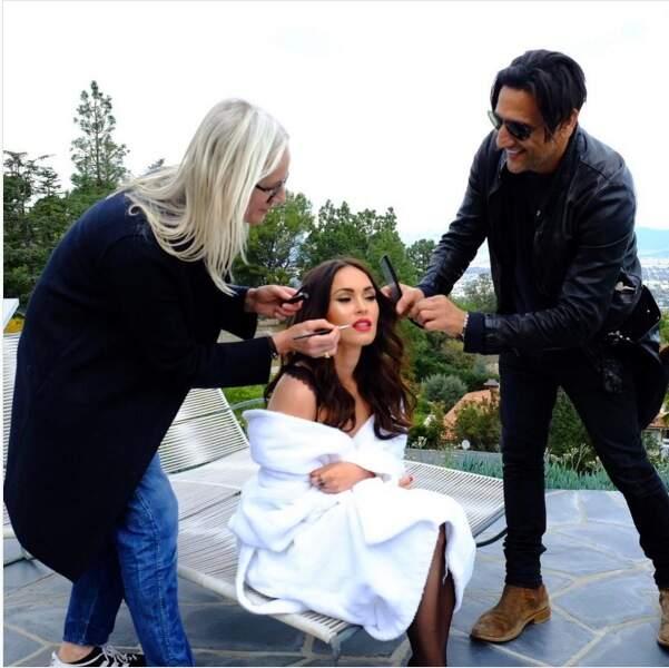 Megan Fox pour la marque de lingerie Frederick's of Hollywood
