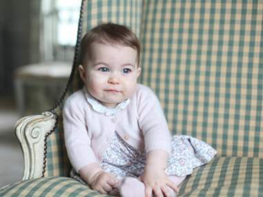 Princesse Charlotte De Cambridge retro