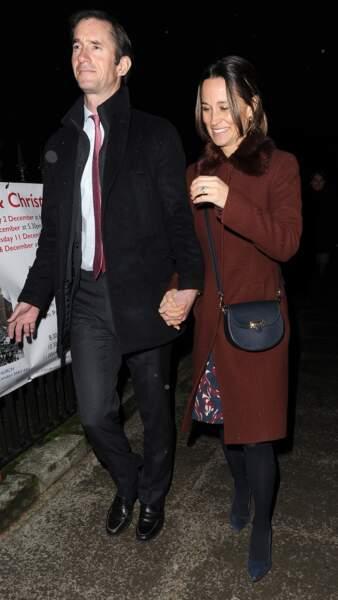 Une sortie pas totalement anodine, Kate étant retenue à une réception à Buckingham le même soir