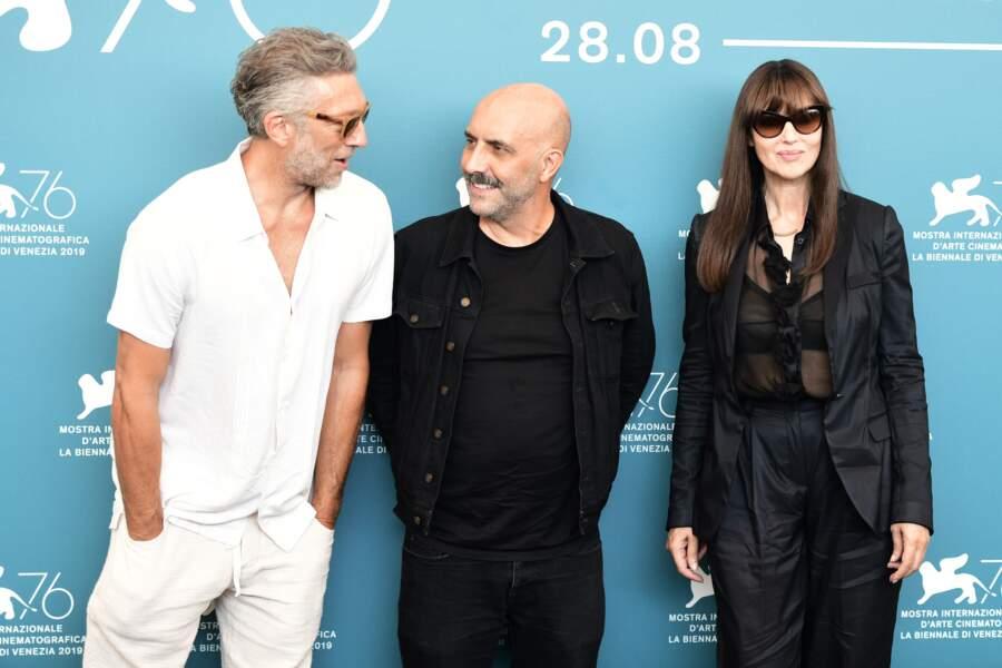 Comme à son habitude, Vincent Cassel a fait le show aux côtés de Gaspar Noé et Monica Bellucci