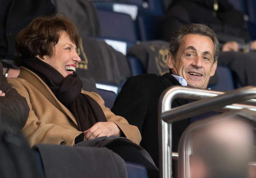 Roselyne Bachelot et Nicolas Sarkozy