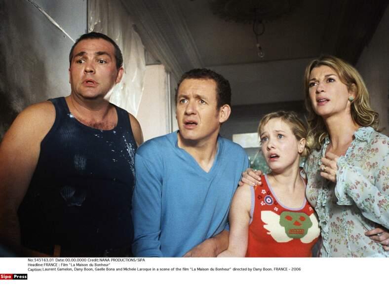 En 2005, dans La maison du bonheur, adaptation cinématographique de la pièce La vie de chantier