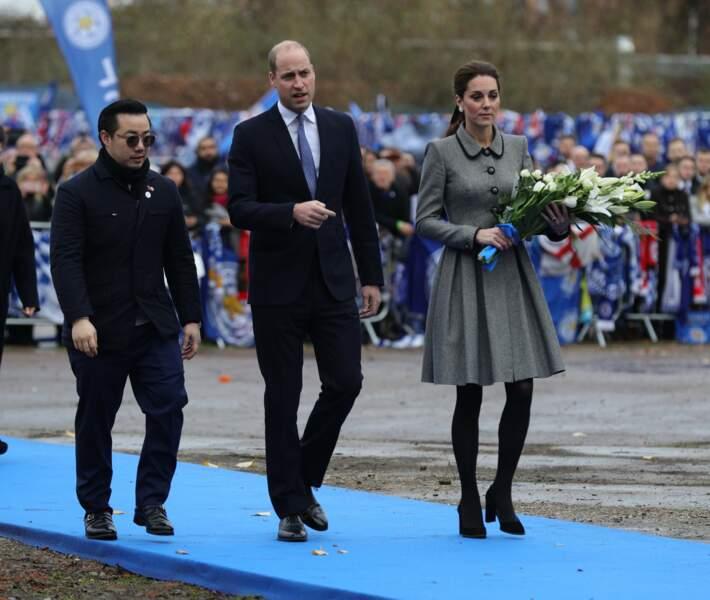 Kate Middleton toujours aussi fine et élégante