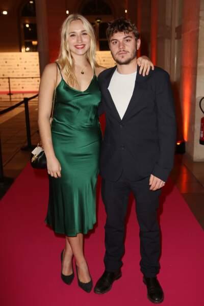 Chloé Jouannet s'est affichée avec son petit-ami, l'acteur Zacharie Chasseriaud