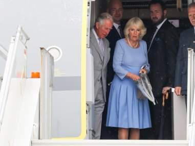 PHOTOS - Le prince Charles et Camilla reçus à Nice par une célèbre animatrice télé