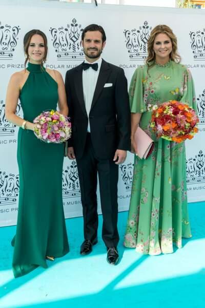 La princesse Sofia de Suède, le 14 juin 2018, avec la même robe… ou presque !