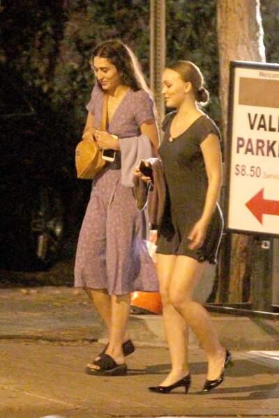 Lily-Rose Depp est rentrée aux Etats-Unis, après un séjour en France
