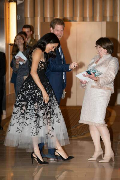 Meghan Markle complimentée sur sa tenue