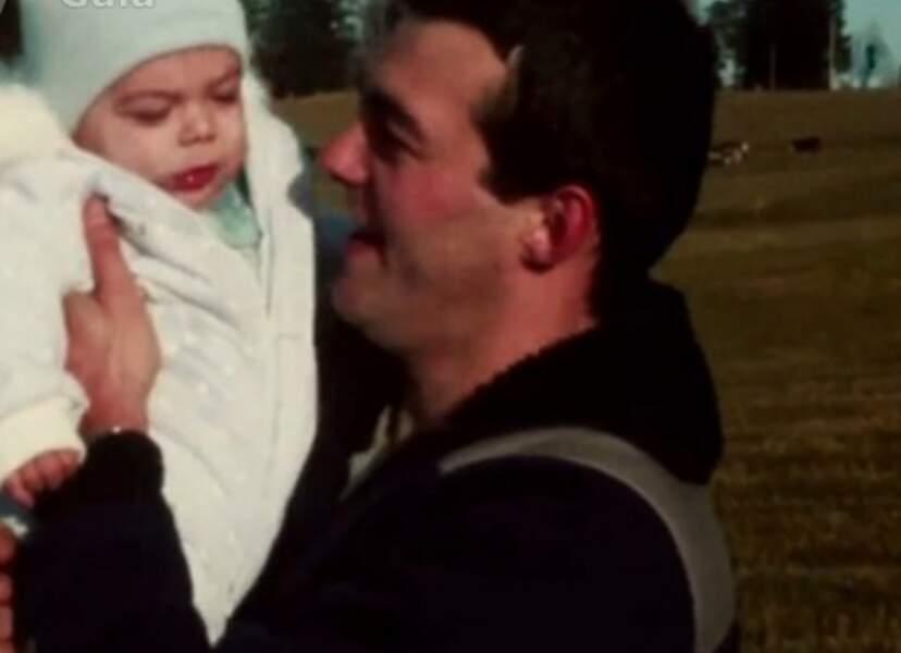 Le père de Grégory Lemarchal et son fils bébé