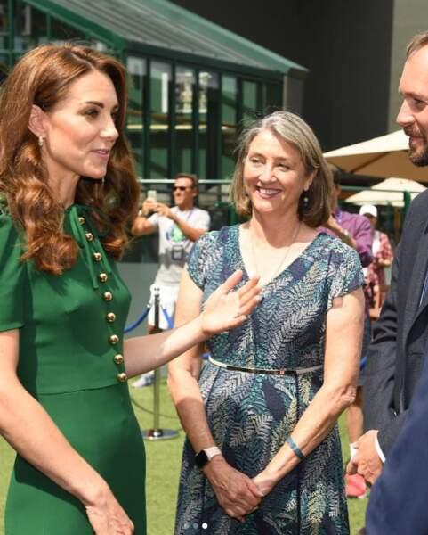 La duchesse de Cambridge est dans son élément à Wimbledon