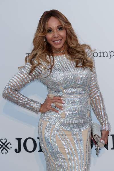 La sublime Cathy Guetta lors du 72ème Festival de Cannes.