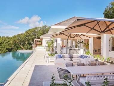 PHOTOS - Kate Middleton et le prince William en vacances : découvrez leur villa à l'île Moustique