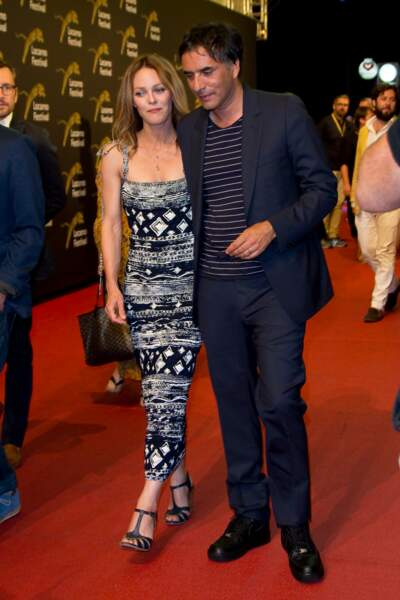 """Vanessa Paradis et Samuel Benchetrit lors de la première du film """"Chien"""""""