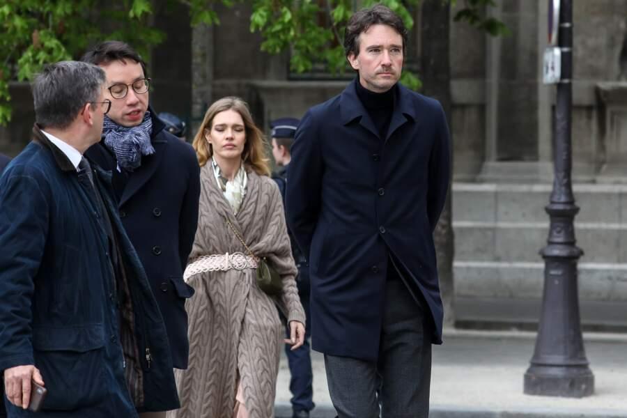 Natalia Vodianova et son compagnon Antoine Arnault se sont montrés très émus à leur arrivée à Notre-Dame de Paris
