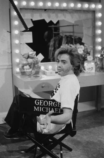 En 1985, Robert Downey Jr. (Iron Man) s'était spécialisé dans l'imitation de feu George Michael