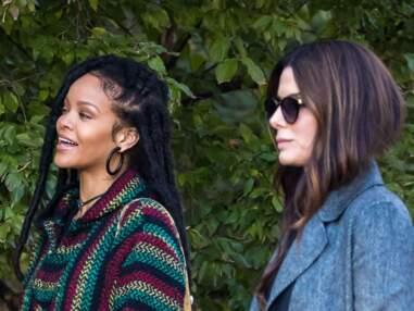 Rihanna sur le tournage de Ocean's Eight