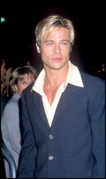 Brad Pitt sur un de ses premiers tapis rouge
