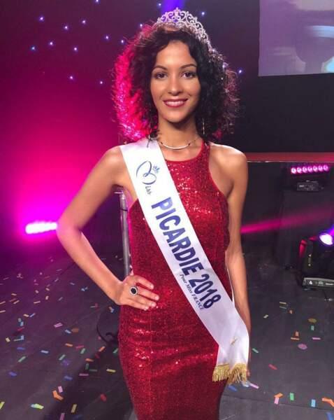 Assia Kerim, 22 ans, a été sacrée Miss Picardie et tentera de devenir Miss France 2019
