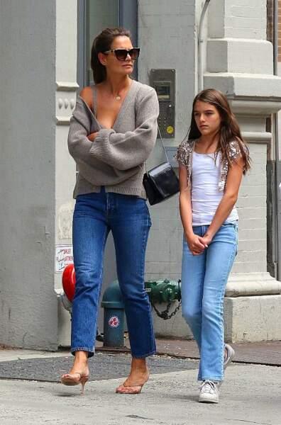 Dans son collège de New York, Suri Cruise, fille de Tom Cruise et Katie Holmes, rentre en 4ème