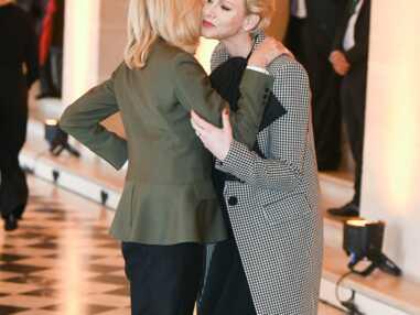 PHOTOS - Brigitte Macron et Charlene de Monaco sublimes et particulièrement proches pour un déjeuner à Versailles