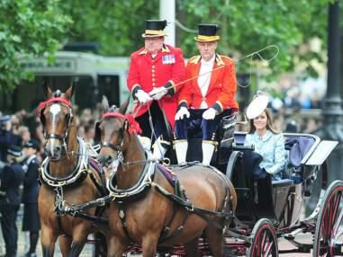 Le Prince George enchanté aux premières loges de Trooping the Colour