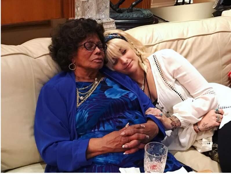 Paris Jackson et sa grand-mère Katherine