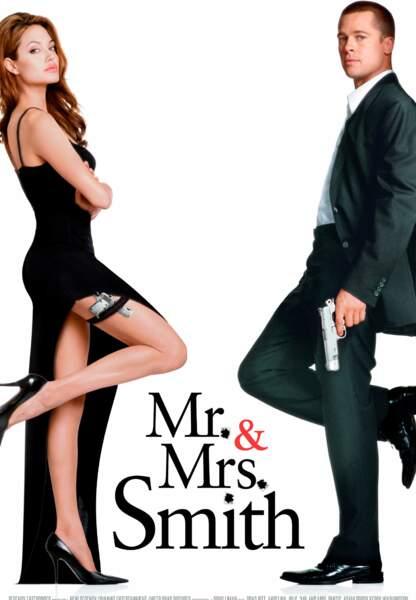 Angelina Jolie a rencontré Brad Pitt sur le tournage de Mr and Mrs Smith