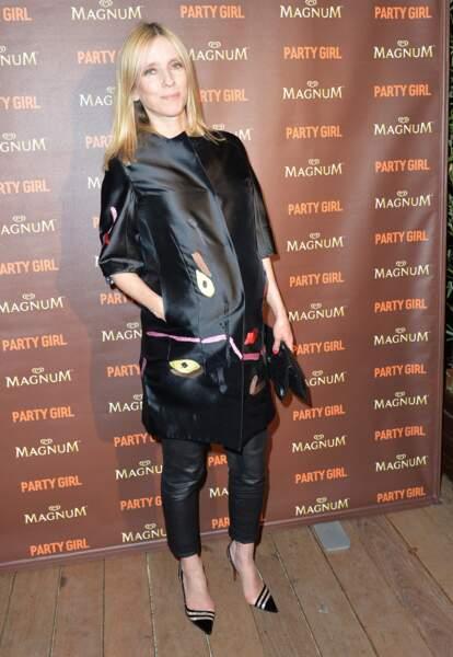 Léa Druker enceinte au festival de Cannes en 2014