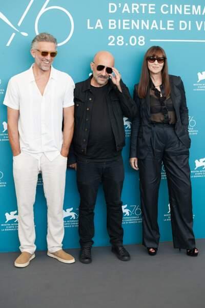 Vincent Cassel et Monica Bellucci se sont retrouvés ce 31 août à la Mostra de Venise