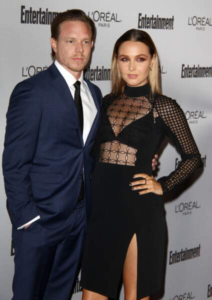 Camilla Luddington et son compagnon Matthew Alan à Los Angeles en 2016