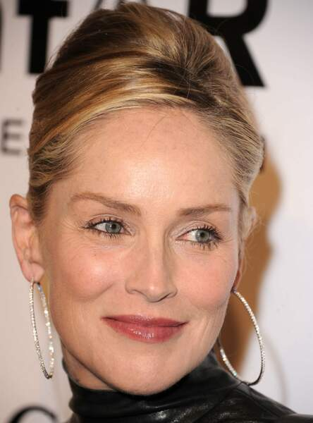"Le make up ""effortless"" de Sharon Stone"