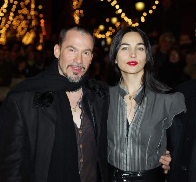 Florent Pagny et son épouse Azucena dont il est fou amoureux depuis maintenant 2006