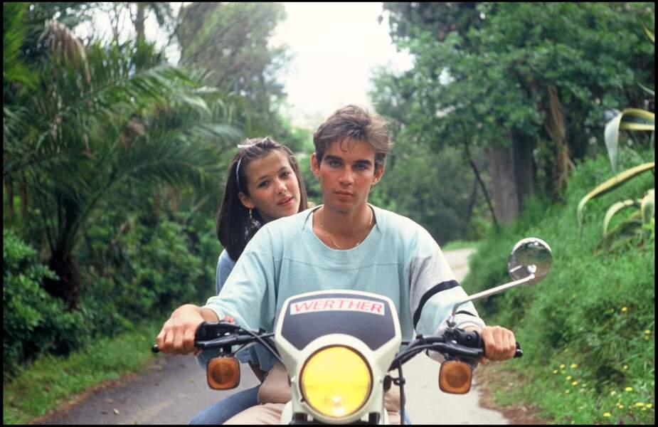 Sophie Marceau et Pierre Cosso pour Rendez-vous sur la côte en 1983.