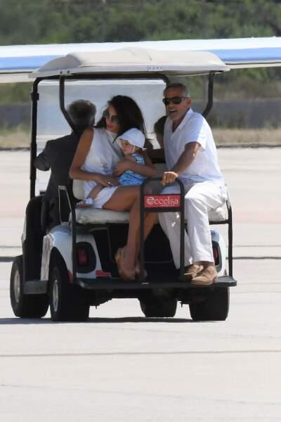 Deux jours après son accident de scooter, George Clooney a quitté l'hôpital.