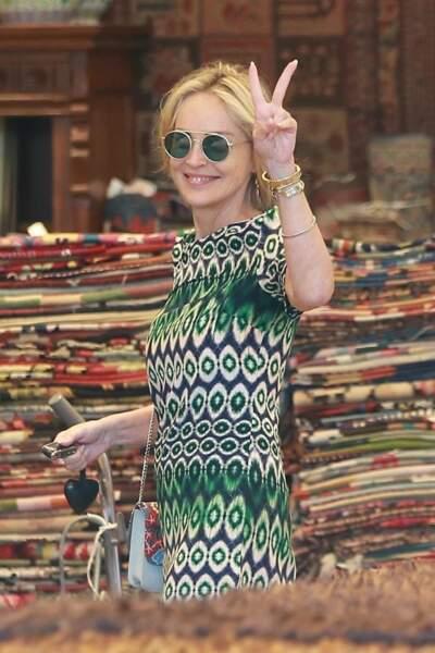 A 61 ans, Sharon Stone est toujours au top !