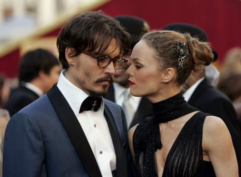 Vanessa Paradis et Johnny Depp à Los Angeles en 2005
