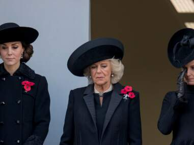 Kate Middleton et Camilla à la cérémonie du Remembrance Sunday