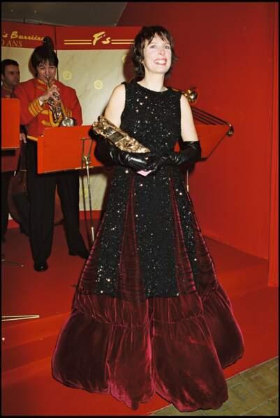 """Karin Viard, récompensée en 2000 pour le film """"Haut les coeurs !"""""""