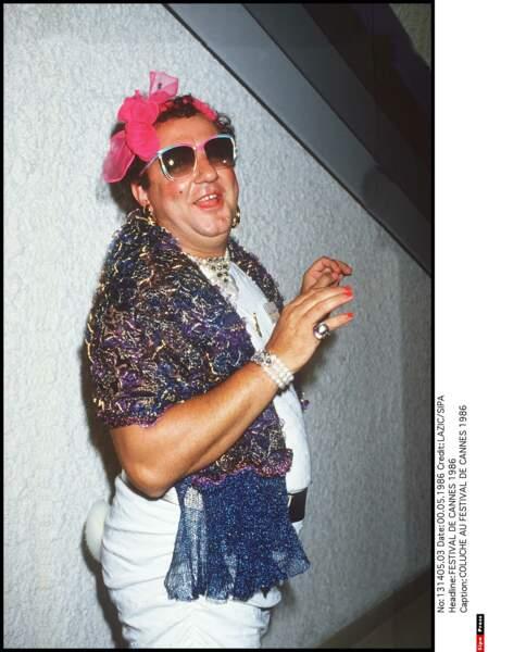 Au Festival de Cannes en 1986
