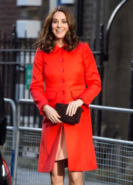 Kate Middleton était présente à l'ouverture d'une nouvelle aile à l'hôpital pour enfants Great Ormond, à Londres