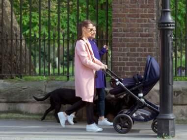 Pippa Middleton promène son fils Arthur dans Londres