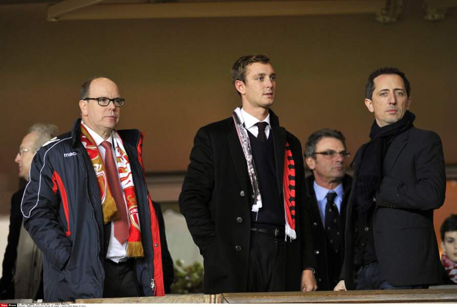 Albert de Monaco, Pierre Casiraghi, Gad Elmaleh,