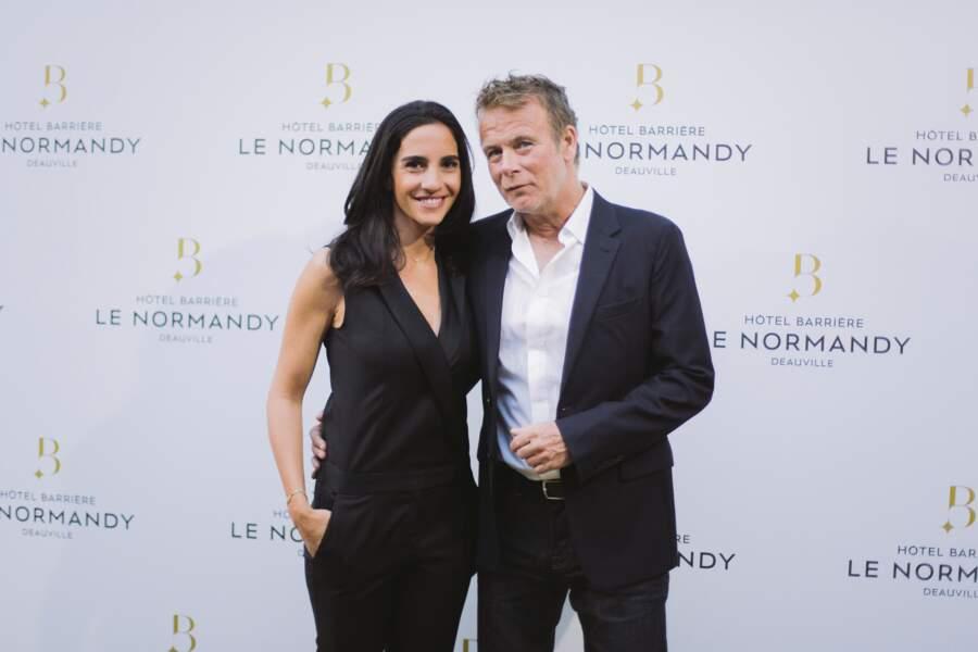France Dubosc et sa femme Danièle